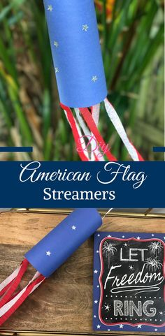 DIY American Flag St