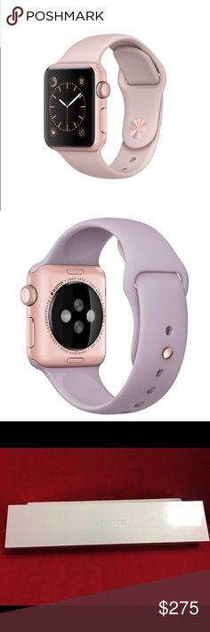 First gen Apple Watch. Rose gold Apple Watch, new in box. Jewelry