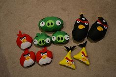 Angie's Suburban Oasis: Make Your Own Plush Angry Birds Game