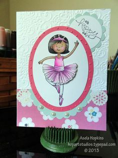 Stampin' Up! Stylin' Girl card design