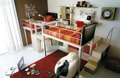 Space-saving furniture for smaller bedrooms