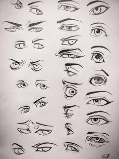 Eyes drawing by AA drawings