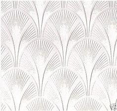 I love, love, love art deco wallpaper patterns.
