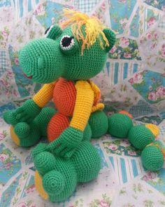 Dragon amigurumi  Renkli hobilerim hobiarsivi