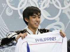 MANILA, Philippines UPDATE) – Filipino ice skater Michael Martinez made Olympic history when he qualified for the medal round of the men's figure skating event at the Sochi 2014 Winter Olympics in Russia on Thursday. Movie Blog, Winter Games, Figure Skating, Ice Skating, Male Figure, Winter Olympics, Latest Movies, Manila, Filipino