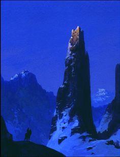 Thorgal - by Neil C. Visual Development, Fantasy Landscape, Cool Landscapes, Whale, Concept Art, Composition, Sci Fi, Castle, Architecture