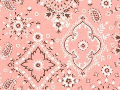 Cottonwood Bandana (Pink) by Alexander Henry Conversational Prints, Alexander Henry, Alexander Mcqueen Scarf, Bandana, Sewing, Pink, Art, Bandanas, Art Background