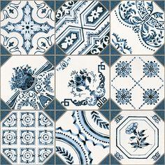 Retiro 31,6x31,6cm.   Floor Tiles Gres   Tile Color Blue   VIVES Azulejos y Gres S.A.