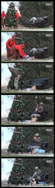 Christmas with Pranksters :D this should happen more often. Faith in humanity restored