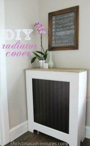 DIY Radiator Cover Tutorial - Christinas Adventures