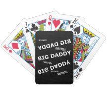 Big Daddy Playing Cards #blackandwhite #BigDaddy