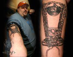 Shadowart Tattoo Fine Job for DJ XXXL
