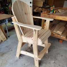 Wooden Lawn Chairs, Wood Adirondack Chairs, Wooden Rocking Chairs, Deck Chairs, Outdoor Chairs, Outdoor Furniture Plans, Diy Garden Furniture, Home Decor Furniture, Furniture Design