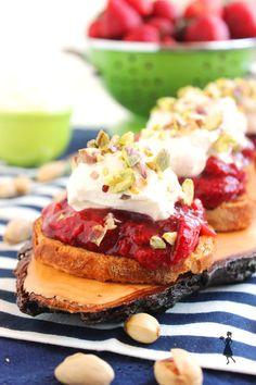 Roasted Balsamic Strawberry Crostini   Tasty Kitchen: A Happy Recipe Community!