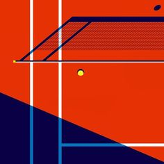 Malika Favre - Tennis illustration for my ongoing collab with @sportetstyle #insta