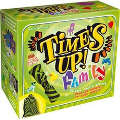 Time's Up Family Asmodee Animation Soiree, Bored Games, Wedding List, Jouer, Vintage Advertisements, Dungeons And Dragons, Decorative Boxes, Lunch Box, Toys