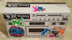 "Kid Robot All City Breakers Boom Box 50 Packs 2"" Figures Break Dancers Blind Bag #Kidrobot"