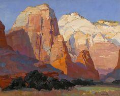 southwestart: Franz Arthur Bischoff (American, 1864-1929)Pinnacle Rockoil on canvas24 X 30 in.