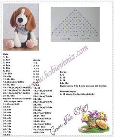 Beagle, Crochet Designs, Crochet Patterns, Doodle Art Designs, Crochet Unicorn, Crochet Animals, Crochet Dolls, Bead Weaving, Free Pattern