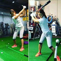 先ずは2勝目…目指して #松森彩夏頑張ってね. #ゴルフ#golf #今年はもっと #トレーニング #골프  #あやか #輝く #松森彩夏 #fbより