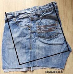 DIY denim pockets from old jeans: 3 easy to make ideas .- DIY Denim Taschen aus alten Jeans: 3 einfach zu machende Ideen DIY denim pockets from old jeans: 3 easy-to-make ideas, - Denim Bags From Jeans, Artisanats Denim, Denim Tote Bags, Diy Denim Purse, Diy Bags Jeans, Denim Shorts, Diy With Jeans, Denim Jean Purses, Diy Old Jeans