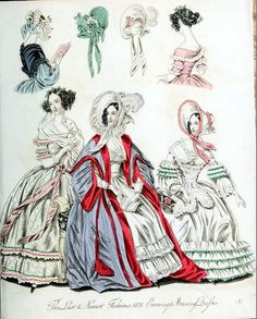 The World of Fashion and Continental Feuilletons 1838 Plate 48