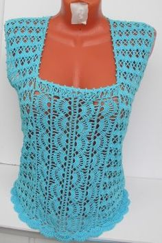 Crochet Top, Sweaters, Tops, Dresses, Fashion, Life, Art, Vestidos, Moda