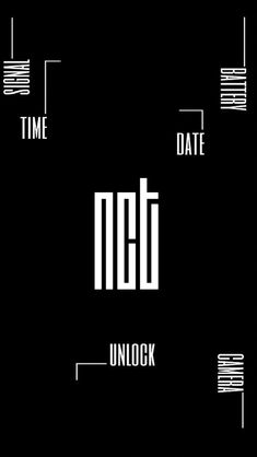 Dark Wallpaper Iphone, Homescreen Wallpaper, Band Wallpapers, Pretty Wallpapers, Nct 127, Nct Logo, Dream Logo, Kpop Logos, Future Wallpaper