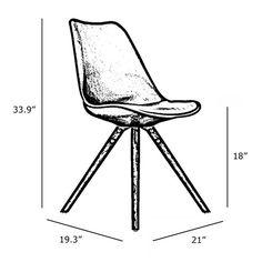 Found it at AllModern - Side Chair