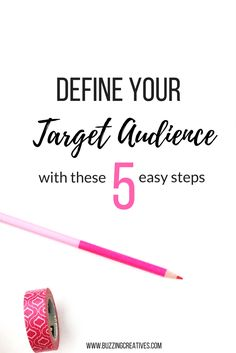 Running a business without a defined target audience is like setting up a  stall in a crowded unlit room. You know there are people around, people  that would be interested in what you have to offer but they can't see you  and you can't see them. So you end up shoving your pamphlet and giving you