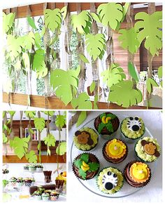 Vanilla Frost: Jungle Cupcakes and Cake Pops - make with kids?