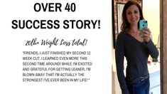 Over 40 Weight Loss Success Story! Be Lean, Strong and your Best!  Barbell Fit Mom Club and programs can  help you!