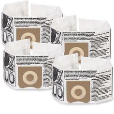 3 - 4.5 Gallon Wet Dry Shop Vacuum Dust Collection Bag