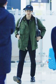160201 EXO Sehun | Haneda Airport to Gimpo | Airport Fashion ✈️