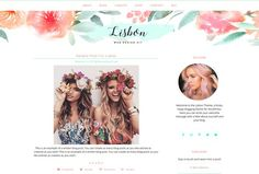 Hippie Boho Feminine Blog + Shop by Boutique Design Studio on @creativemarket