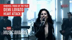 """I voted for Demi Lovato's """"Heart Attack"""" to win Video of the Year at the Youtube Music Awards. Please do it too!"""
