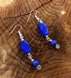 Handcrafted Blue Lapis Earrings