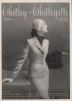 1951 Whitley women's tailored suit