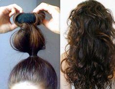 8 Easy Overnight Hairstyles #Beauty #Trusper #Tip