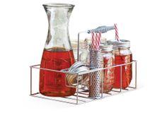 10-Pc Beverage Set w/ Caddy | Set the Scene | One Kings Lane