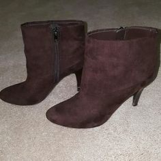 Marc Fisher Booties Very cute and comfy booties. Marc Fisher Shoes Ankle Boots & Booties