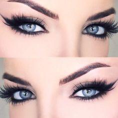 Gorgeous Makeup: Tips and Tricks With Eye Makeup and Eyeshadow – Makeup Design Ideas Eye Makeup Glitter, Blue Eye Makeup, Eye Makeup Tips, Makeup Tools, Eyeshadow Makeup, Makeup Ideas, Makeup Hacks, Easy Makeup, Cute Makeup