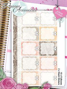 Sticker Aufkleber Fullboxes Washi Tape Erin von EmelysPlannerShop