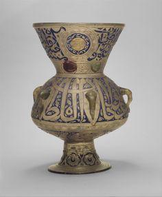 Mosque Lamp of Sultan Barquq | Islamic | The Metropolitan Museum of Art