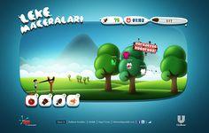 Leke Maceraları // Stainproof Adventures by Ercan Akkaya, via Behance