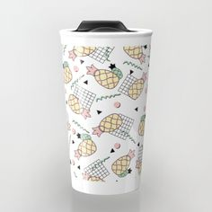 Check out society6curated.com for more! I am a part of the society6 curators program and each purchase through these links will help out myself and other artists. Thanks for looking! @society6 #illustration #drawing #coffee #morning #cup #food #beverage #college #work #office #gift #Idea #buy #shop #shopping #sale #fun #unique #cool #awesome #sweet #coffeemug #buyart #artforsale #pineapple #retro #memphis #design #pattern
