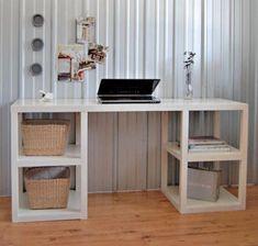 Parson Tower Desk   Ana White