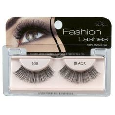 Having obviously long lashes, the 105s are the perfect lashes to make my lashes seem larger (without it looking like I'm using false lashes). http://www.amazon.com/dp/B003ZS8MNG/ref=nosim?tag=x8-20
