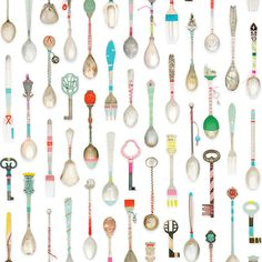 studio ditte / Teaspoons Wallpaper | 輸入壁紙専門店 WALPA