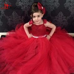 Find More Flower Girl Dresses Information about Spaghetti Flower Girls Dress…